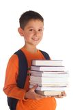 A happy student royalty free stock photos