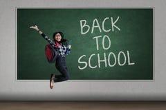 Happy student back to school Stock Photo