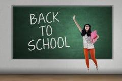 Happy student back to school 1 Stock Photos