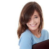 Happy student girl Stock Image