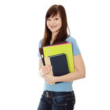 Happy student girl Royalty Free Stock Photo