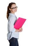 Happy student girl Stock Photography