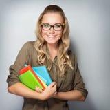 Happy student portrait Stock Photography