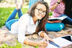 Happy student Stock Photo
