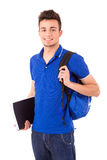 Happy student Royalty Free Stock Images