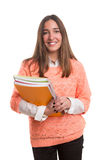Happy student! Stock Image