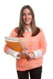 Happy student! Stock Image