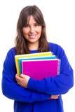 Happy student! Stock Photography