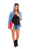 Happy student! Royalty Free Stock Photos