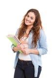 Happy student! Stock Photo