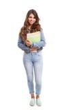 Happy student! Royalty Free Stock Photo