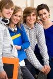 Happy students Stock Photography