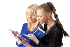 Happy students. Royalty Free Stock Images