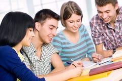 Happy students Stock Photos