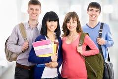 Happy students Stock Photo
