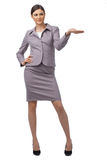 Happy successful business woman Royalty Free Stock Images