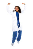 Happy successful doctor Royalty Free Stock Images