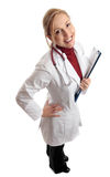 Happy successful medical doctor Stock Photo