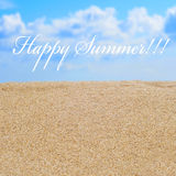 Happy summer Stock Images