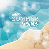 Happy summer background Stock Images
