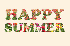 Happy summer bunner Stock Photo