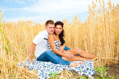 Happy summer couple Stock Photo