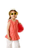 Happy summer girl Royalty Free Stock Photo