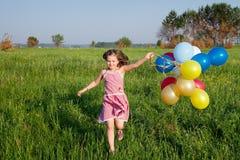 Happy summer girl Stock Photography