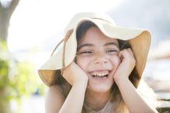 Happy summer girl Royalty Free Stock Photo