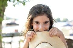 Happy summer girl Royalty Free Stock Image