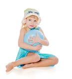 Happy summer girl Stock Photo