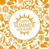 Happy summer holiday Stock Photo