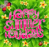Happy summer holidays Royalty Free Stock Image