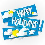 Happy Summer Holidays Royalty Free Stock Photos