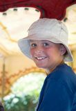 Happy Summer Kid stock image
