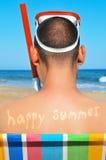 Happy summer Stock Image
