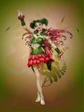 Happy Summer Pixie royalty free illustration