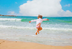 Happy summer at sea Royalty Free Stock Photos