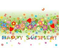 Happy summer Royalty Free Stock Photo