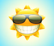 Happy summer sun Stock Photos