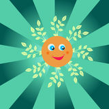 Happy summer sun Royalty Free Stock Images