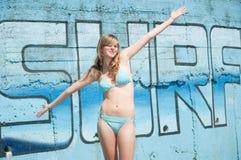Happy summer vacation Stock Image