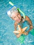 Happy summer vacation Royalty Free Stock Image