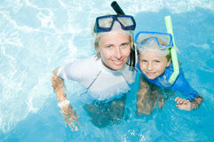 Happy summer vacation stock images