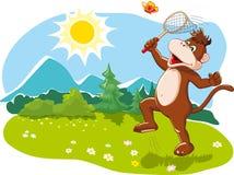Happy summer vacation, nature and fun royalty free illustration