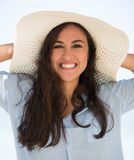 Happy summer woman Stock Image