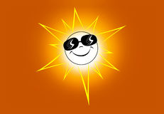 Happy sun Stock Photography