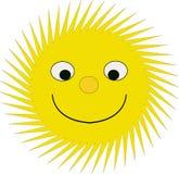 Happy sun stock images