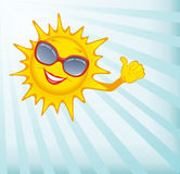 Happy sun. Stock Image