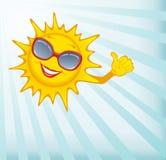 Happy sun. Stock Image